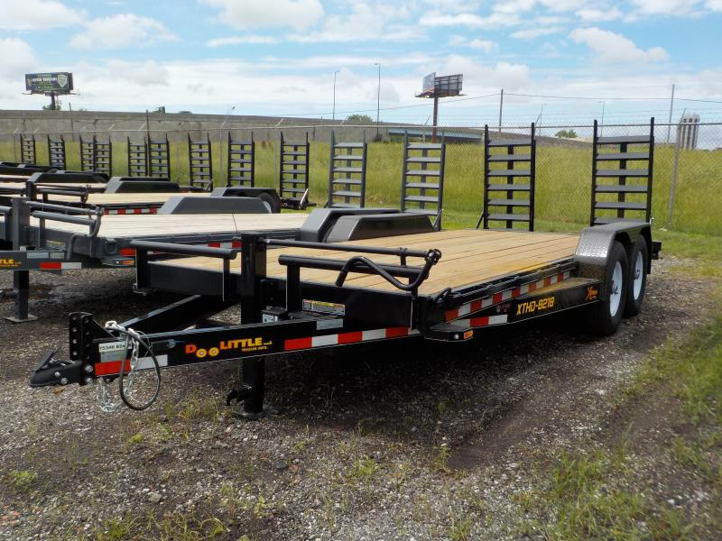 2018 Doolittle Trailer Mfg Xtreme 82x18 T/A 14K Equipment Trailer