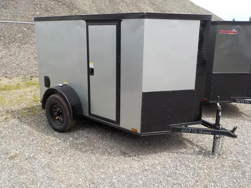 2018 Doolittle Trailer Mfg Bulldog 5x8 Enclosed Cargo Trailer in Ashburn, VA