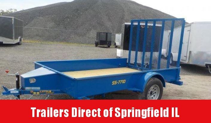 2018 Doolittle Trailer Mfg 77x10 SS Series Utility in Ashburn, VA