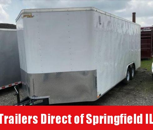 2019 Doolittle Trailer Mfg 8.5x20 T/A 7K Enclosed Cargo Trailer