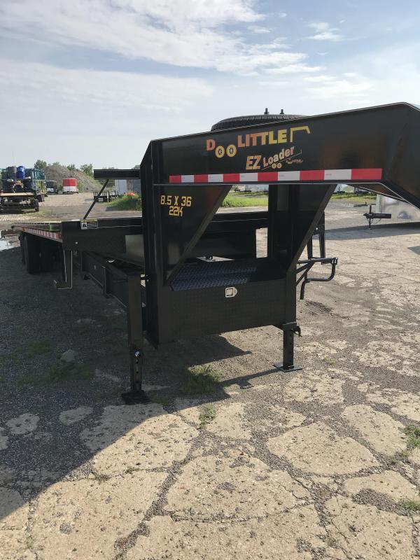 2019 Doolittle Trailer Mfg 102x36 Full Tilt EZ Loader 22K Equipment Trailer