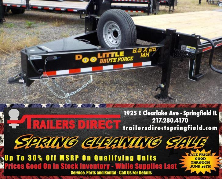 2020 Doolittle Trailer Mfg Brute Force Tandem Axle 14K Equipment Trailer