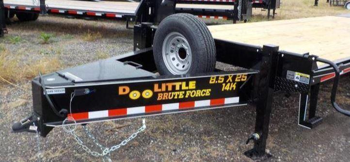 2019 Doolittle Trailer Mfg Brute Force Tandem Axle 14K Equipment Trailer