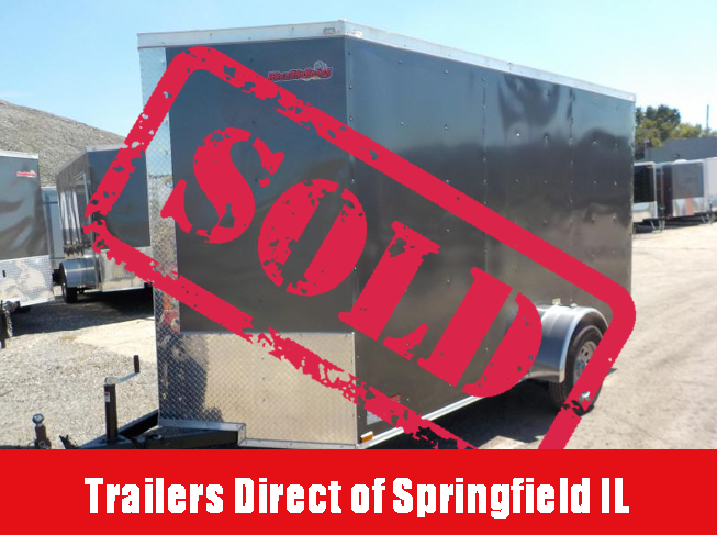 2019 Doolittle Trailer Mfg Bulldog Cargo 6x12 Enclosed Cargo Trailer in Ashburn, VA