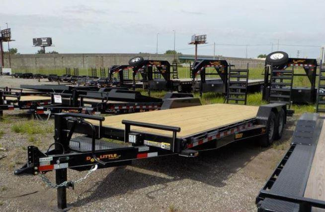 2018 Doolittle Trailer Mfg Xtreme 82x22 14K Equipment Trailer in Ashburn, VA