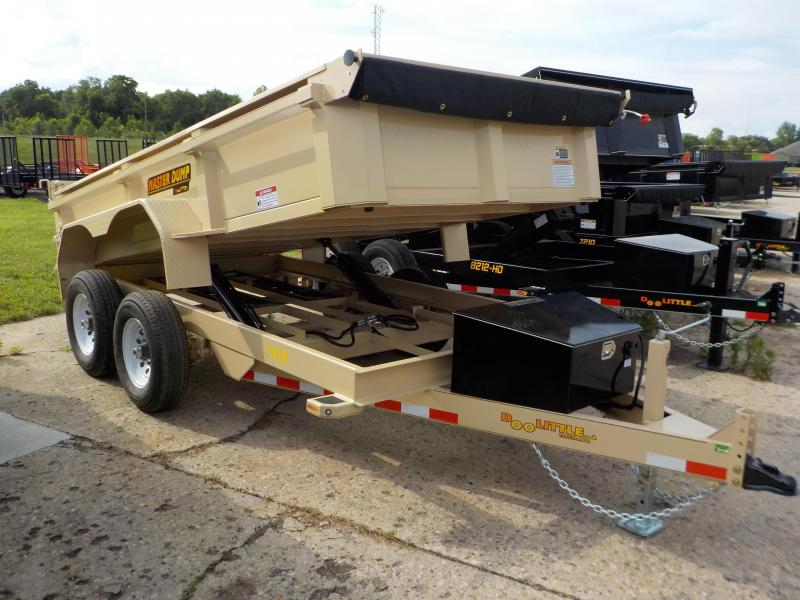 2018 Doolittle Trailer Mfg Masterdump 72 x 12 10K Dump Trailer in Bloomsdale, MO