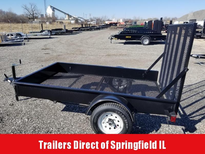 2019 Doolittle Trailer Mfg MSS Single Axle 60 x 8 Utility Trailer