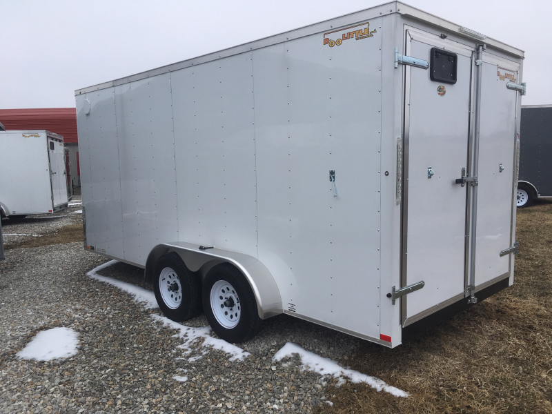2019 DooLittle 7 x 16 Enclosed Cargo Trailer