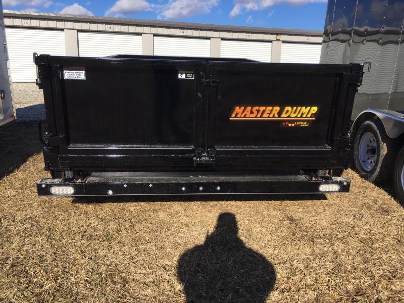 "2019 Doolittle 72"" x 10' Master Dump Trailer 7000 GVWR"