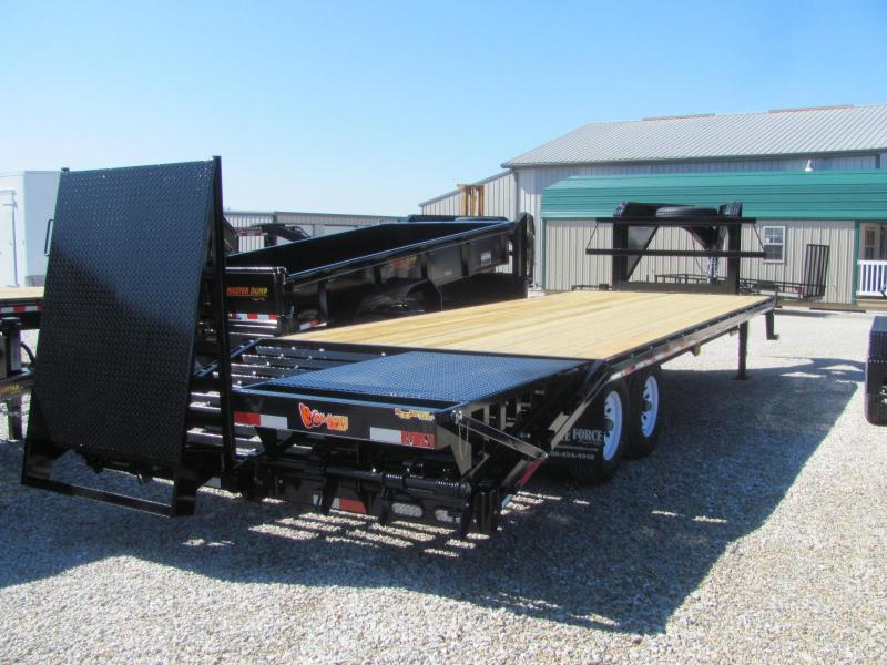 "New 2018 Doolittle 102"" x 20+5 Dove Brute Force Deckover 14K Trailer"