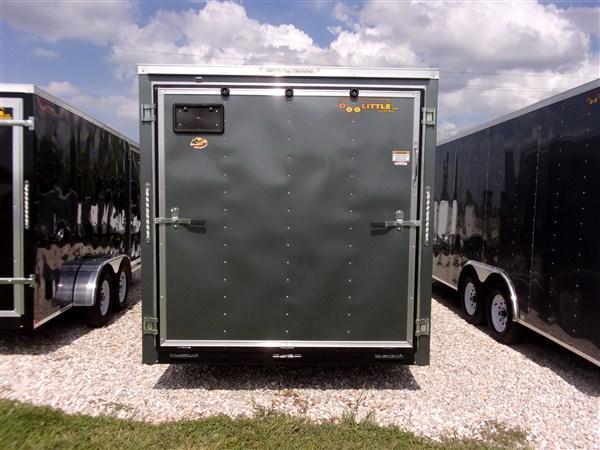 New 2019 Doolittle 7 x 16 Rear Ramp Door Enclosed Cargo Trailer
