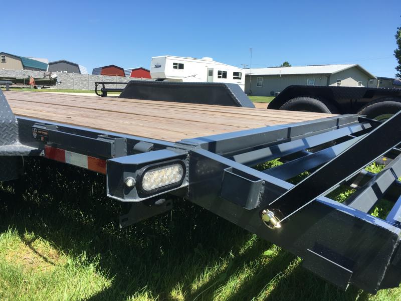"New 2019 Doolittle 82"" x 18+2 14000 GVWR Dove Xtreme Equipment Trailer"