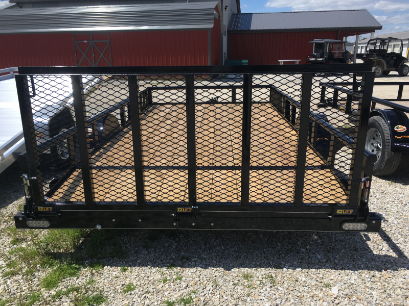 2019 Doolittle Trailer Mfg 84 x 14 PIPE RAIL Utility Trailer