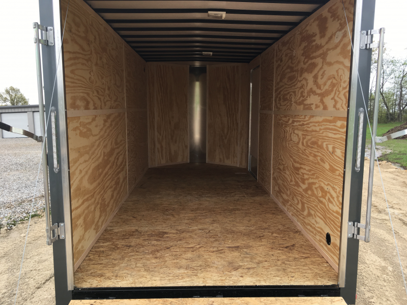 2019 Doolittle Trailer Mfg 7 x 16 T/A Enclosed Cargo Trailer