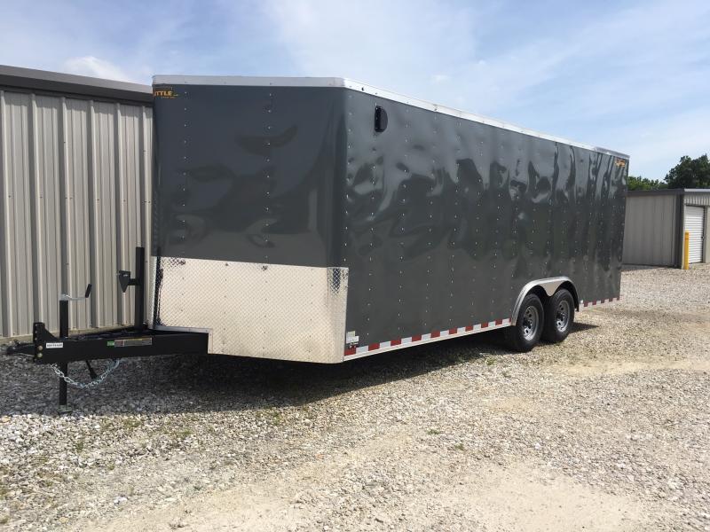 2019 Doolittle 8.5' x 20' Enclosed Cargo Trailer 10000 GVWR + REAR RAMP DOOR