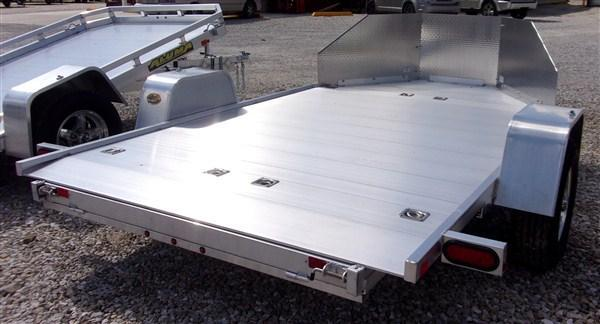 "New 2019 Aluma 78"" x 11.5 SA Motorcycle Trailer"