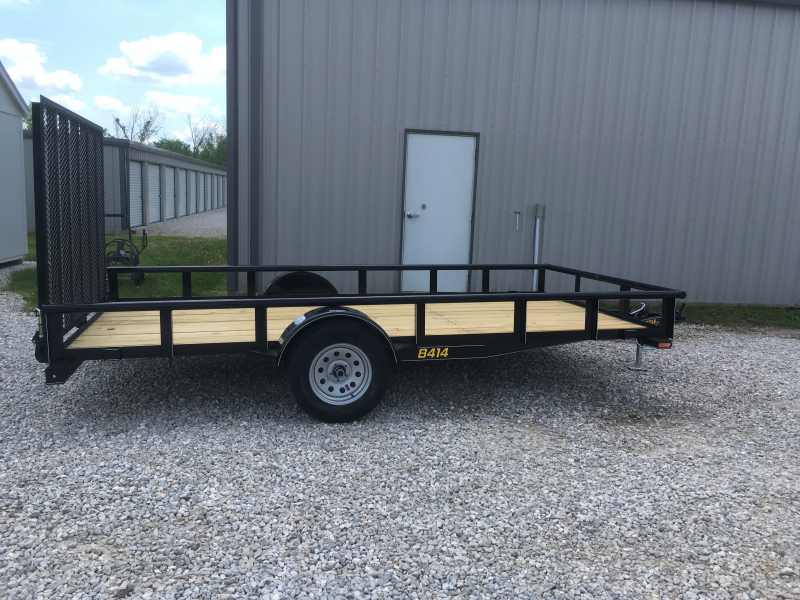 2019 Doolittle Mfg 84 x 14 PIPE RAIL Utility Trailer