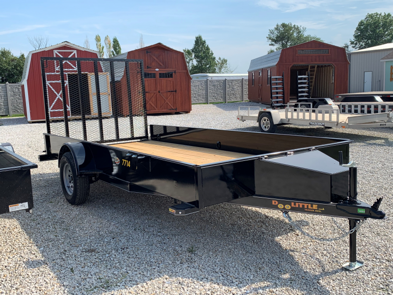 "2020 Doolittle 77"" x 14' SS SERIES Utility Trailer"