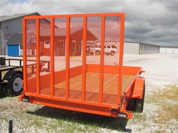"""New 2018 Doolittle 77"""" x 12 Solid Metal Sides SA Utility Trailer"""