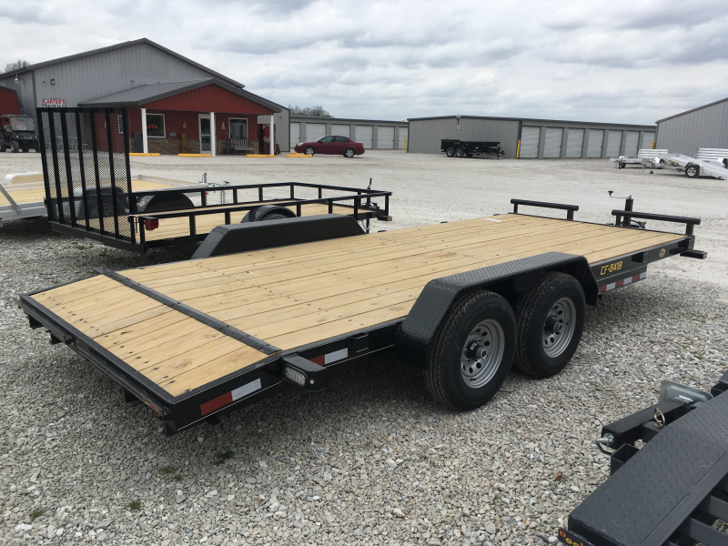 2019 Doolittle Trailer Mfg 84 x 16 2 Dove CF ECONOMY MODEL Equipment Trailer