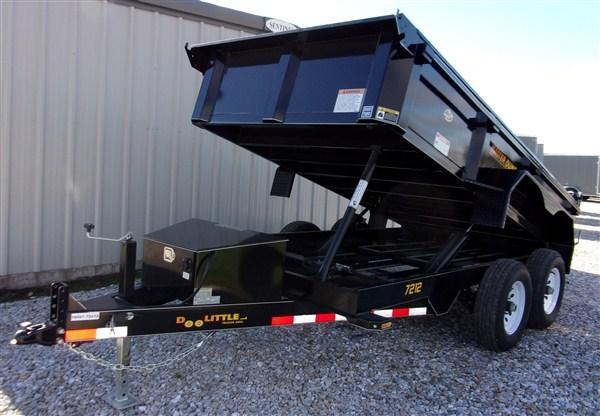 "New 2019 Doolittle 72"" x 12 Master Dump Trailer 10000 GVWR"
