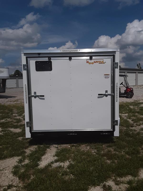 2020 Doolittle Trailer Mfg 7 x 14  RALLY SPORT Enclosed Cargo Trailer REAR RAMP DOOR 7K GVWR