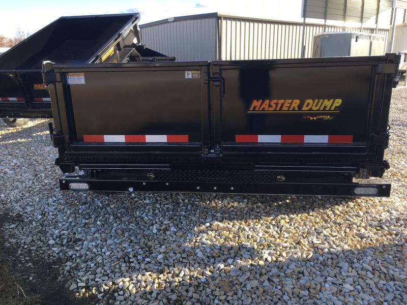 "2019 Doolittle 82"" X 12' MASTER DUMP TRAILER 14000 GVWR SCISSOR LIFT"