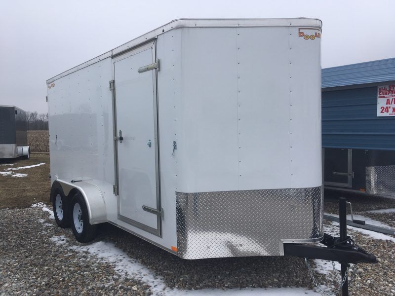 2019 DOOLITTLE 7 x 14 Enclosed Cargo Trailer