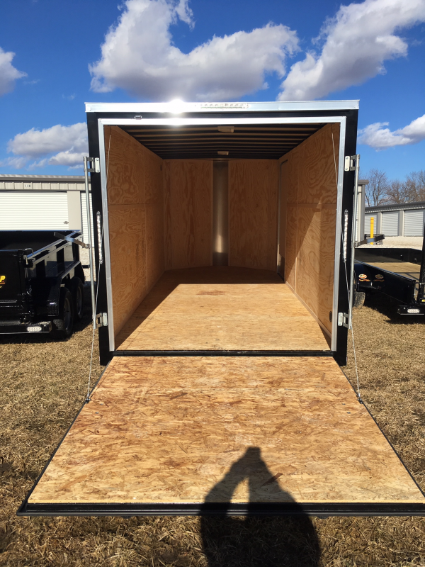 2019 Doolittle 7' X 16' REAR RAMP DOOR Enclosed Cargo Trailer