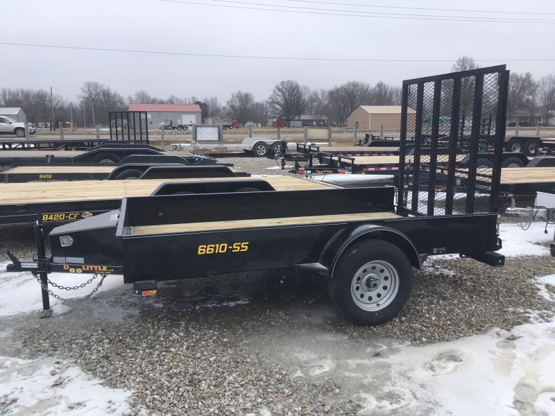 2019 DooLittle 66 x 10 SS SERIES Utility Trailer