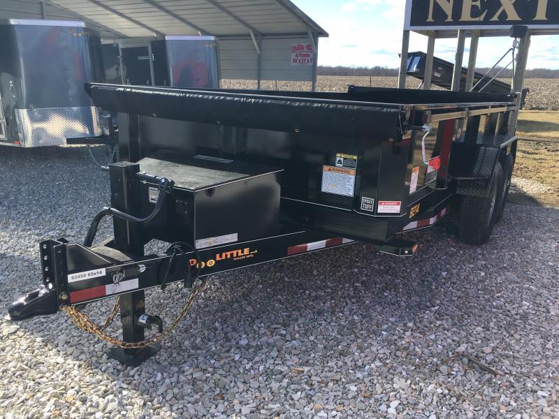 "2019 Doolittle 82"" X 14' MASTER Dump Trailer 14000 GVWR"