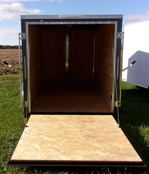 New 2019 Doolittle 6 x 12 Rear Ramp Door Enclosed Cargo Trailer