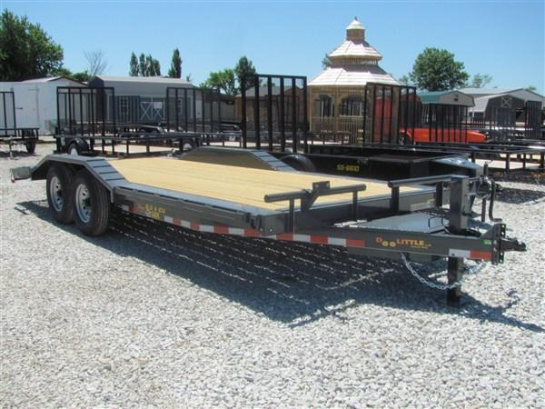 "New 2018 Doolittle 102"" X 18' + 2' DOVE XTREME EQUIPMENT TRAILER 14000 GVWR"