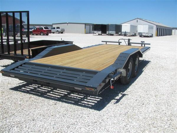 "New 2018 Doolittle 102"" X 18' + 2' DOVE XTREME EQUIPMENT TRAILER 14K GVWR + SPARE MOUNT"