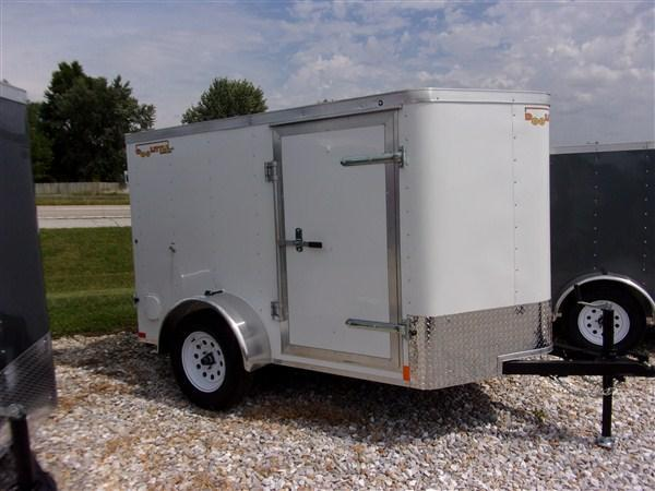 New 2019 Doolittle 5 x 8 Double Doors Enclosed Cargo Trailer