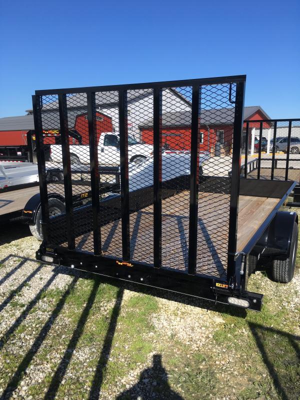 2019 Doolittle Trailer Mfg 77 x 12 SS Series Utility Trailer