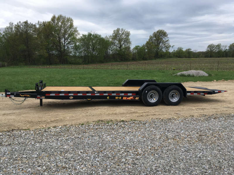 2019 Doolittle Trailer Mfg 82 x 24 18 TILT 6 STATIONARY Equipment Trailer