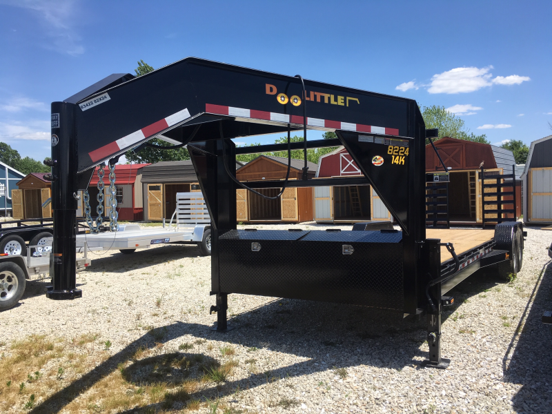 "2019 Doolittle 82"" X 22' + 2' DOVE XTREME Equipment Trailer"