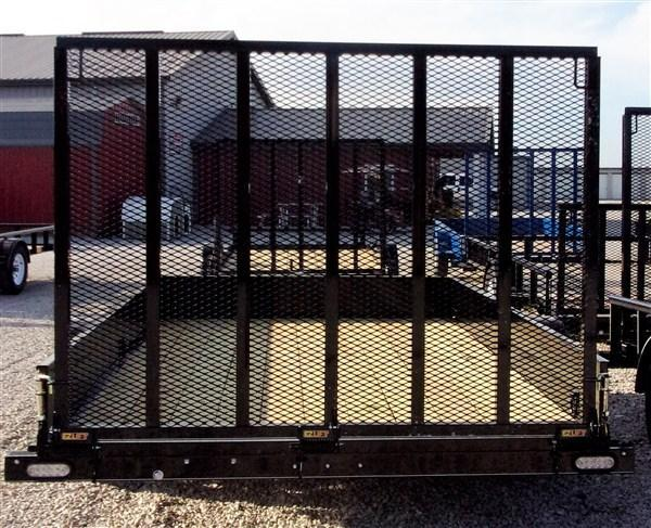 """New 2019 Doolittle 84"""" x 12 Solid Metal Sides SA SS Series Utility Trailer"""