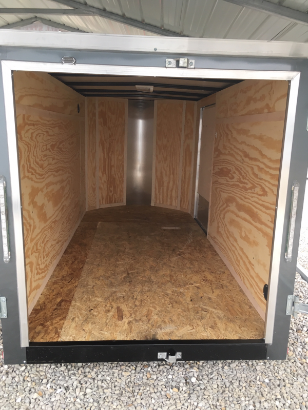2019 Doolittle 5' X 10' DOUBLE DOORS Enclosed Cargo Trailer