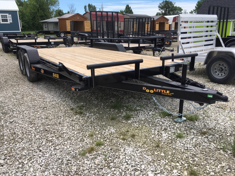 New 2019 Doolittle 82 X 16 + 2 DOVE XTREME EQUIPMENT TRAILER 7000 GVWR