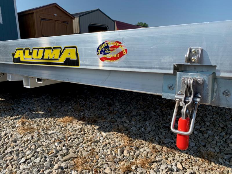 2020 Aluma 8220 T/A TILT Utility Trailer