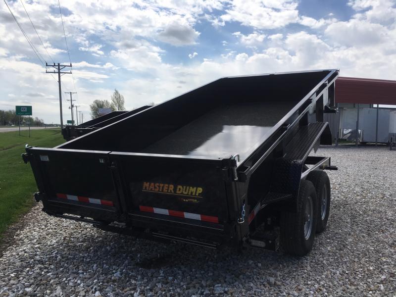 2019 Doolittle Trailer Mfg 82 x 14 MASTER DUMP Trailer 14000 GVWR