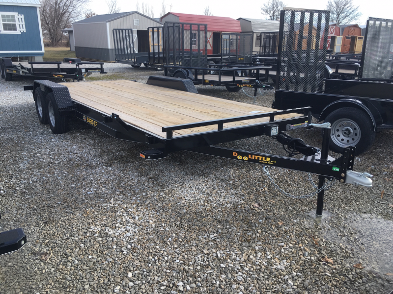 "2019 Doolittle 84"" X 18' + 2' DOVE CF Equipment Trailer"