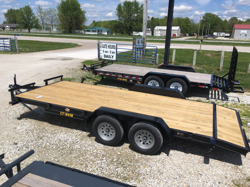 2019 Doolittle Trailer Mfg 84 x 16 2 DOVE CF ECONOMY Equipment Trailer