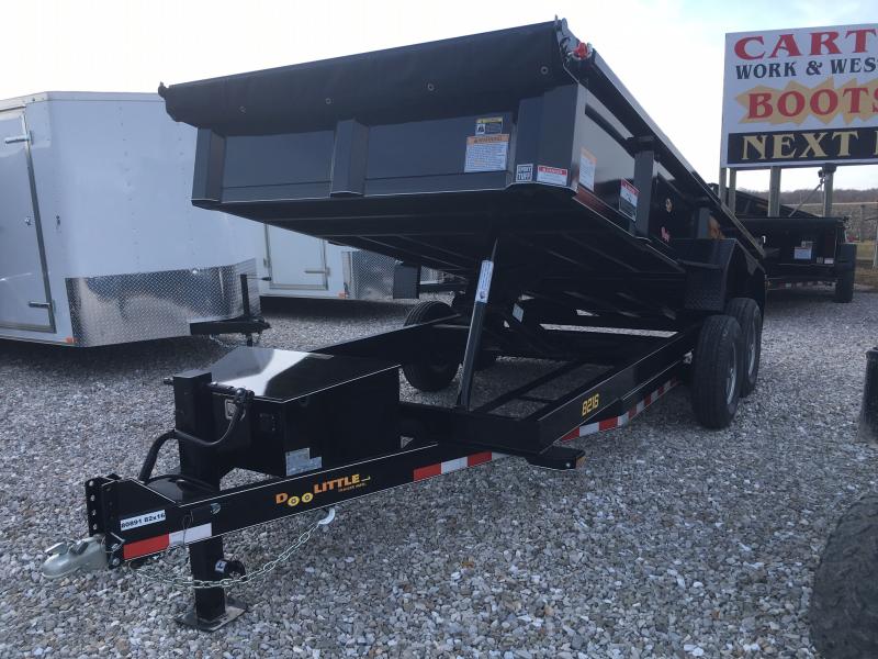 2019 Doolittle 82 X 16 MASTER DUMP TRAILER