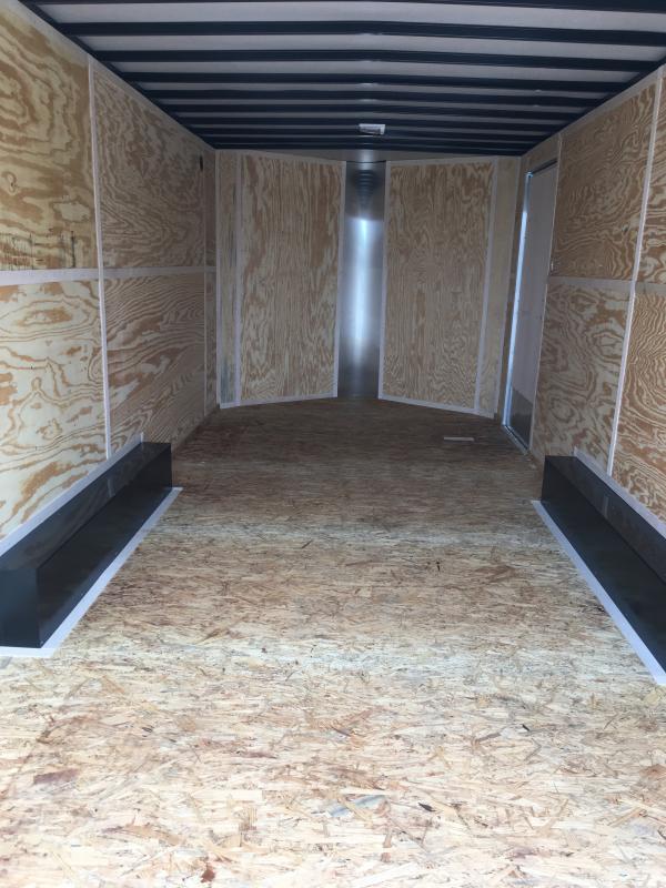 2019 Doolittle Trailer Mfg 8.5 x 18 T/A Enclosed Cargo Trailer REAR RAMP DOOR