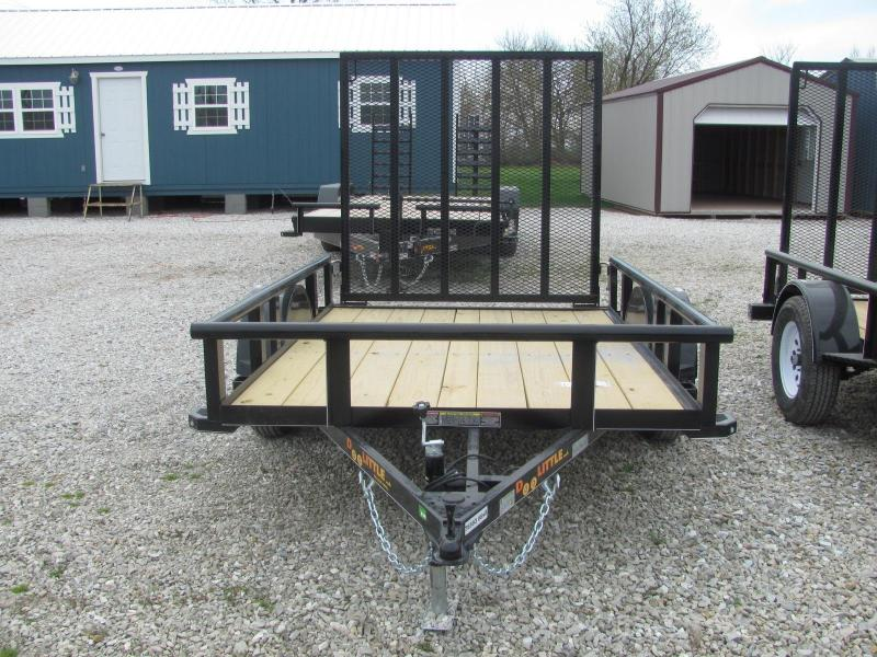 "New 2018 Doolittle 66"" x 8 Pipe Rail SA Utility Trailer"