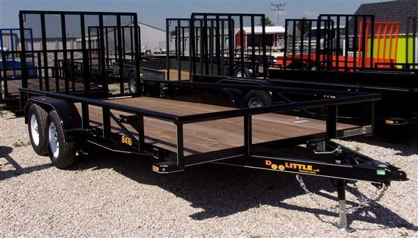 New 2019 Doolittle 84 x 16 PIPE RAIL UTILITY