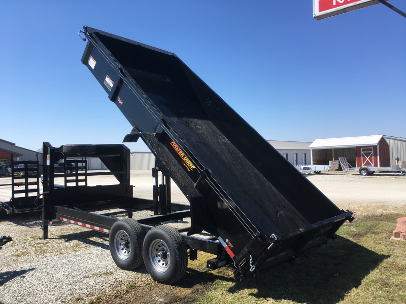 2019 Doolittle Trailer Mfg 82 x 16 SCISSOR LIFT Dump Trailer